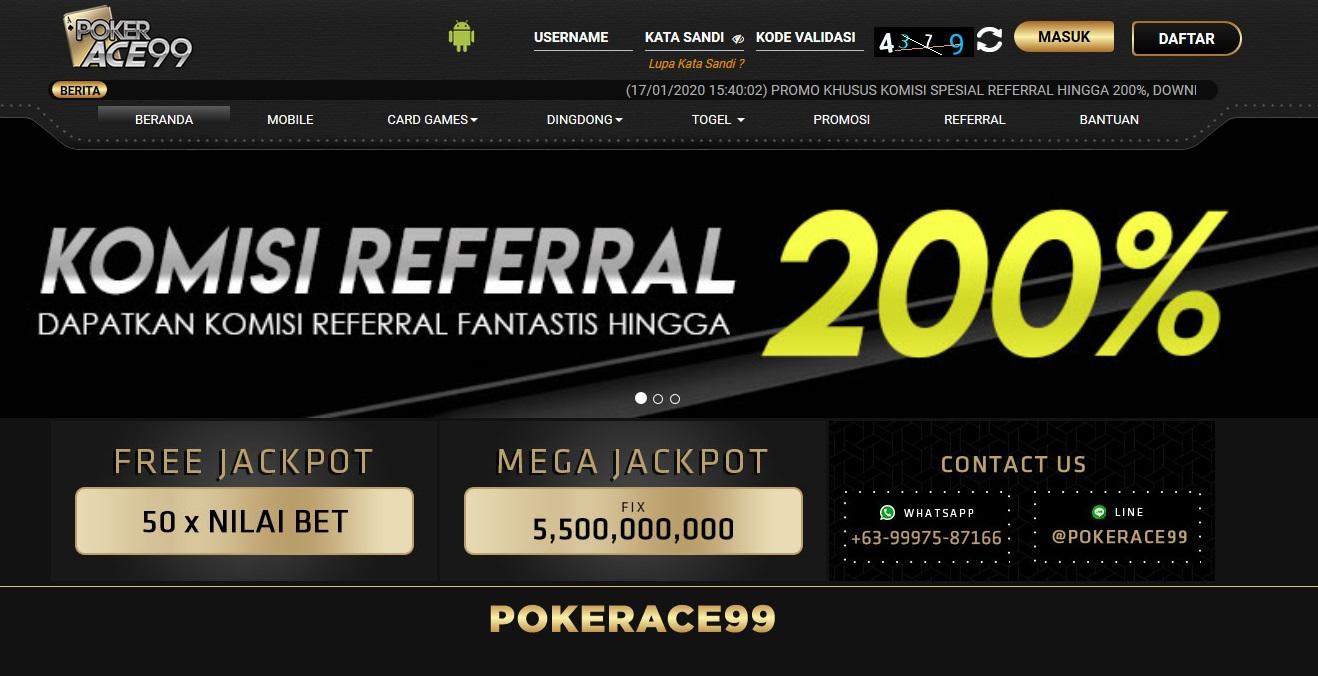 Transaksi Yang Dilakukan Dalam Situs Judi Pokerace99